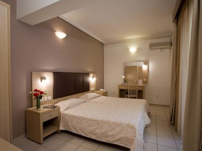 Caravel Apartment Hotel , (bedroom), Rhodes, Greece