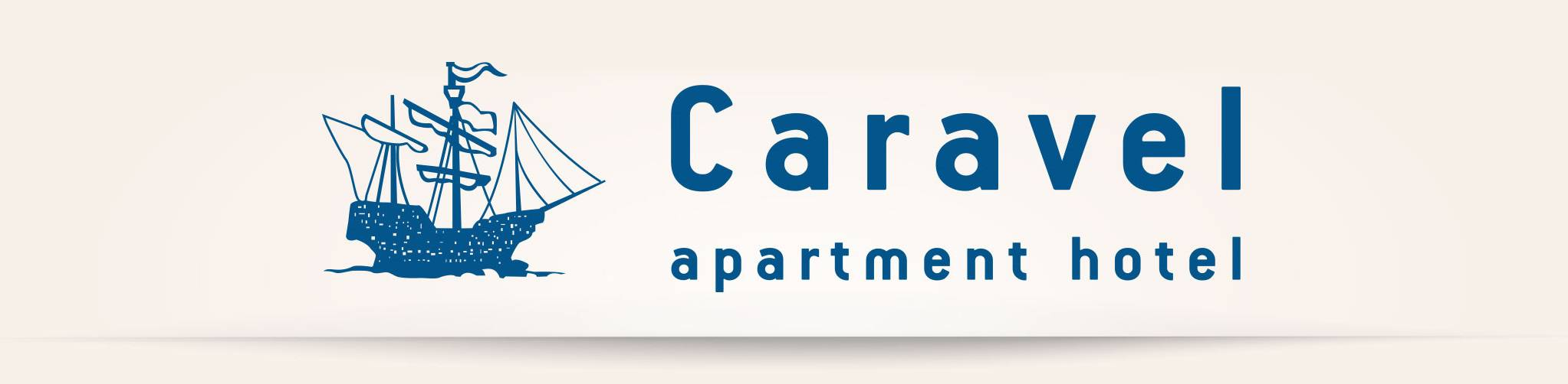Caravel Apartment Hotel (logo), Ixia, Rhodes, Greece